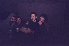 (Changeover.) Tags: analog analogica yashica fx3 grana grain film story flash compleanno birthday