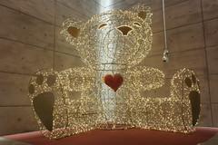 Hug me! (semcesen) Tags: malmö sweden lights teddy bear heart trianglen christmasdecorations nordic samsung nx210 art
