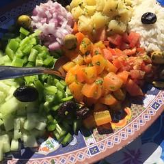 Lots of fresh veggies! (NaomiQYTL) Tags: atlasmountains trekatlas aremd vegetables morocco holiday travel