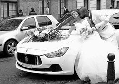 Marriage a la Maserati (DouglasBray) Tags: maserati marriage wedding whitetuxedo