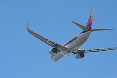 IMG_2640 (wmcgauran) Tags: kbos bos boston airport eastboston aviation airplane aircraft n917nn american americanairlines boeing 737 737800