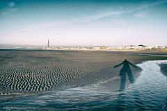 Me and my shadow (Mark-F) Tags: xf18mmf2r fujifilmxpro1 markymarkf markfreeman markf markfreemanphotogrpahy blackpool lancashire blackpooltower shadow