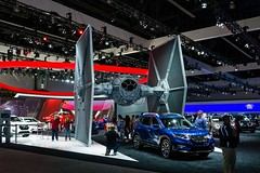 Rogue (Noah L. Photography) Tags: nissan rogue one star wars limited edition tie fighter blue grey gray car suv spacecraft japanese laautoshow la los angeles