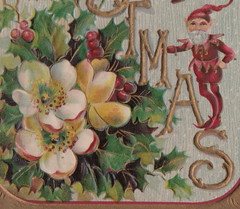 "Antique CHRISTMAS c.1908 GREAT CHRISTMAS ELVES maintaining Christmas FOR OLD TIMES SAKE Great RICH Color Embossed German Printed Publisher UNK Card 21693 (UpNorth Memories - Donald (Don) Harrison) Tags: christmas santa jesus vintage antique postcard rppc ""don harrison"" ""upnorth memories"" upnorth memories upnorthmemories michigan history heritage travel tourism ""michigan roadside restaurants cafes motels hotels ""tourist stops"" ""travel trailer parks"" campgrounds cottages cabins ""roadside entertainment"" ""natural wonders"" attractions usa puremichigan "" ""railroad ferry"" ""car excursion"