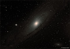 Messier 31 Andromeda Galaxy Nov 2016 (twinklespinalot) Tags: m31 andromeda galaxy astronomy astrophotography skywatcher120ed phd2 canon 700d orionssag longexposure stars m110 m32