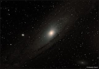Messier 31 Andromeda Galaxy Nov 2016