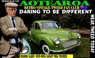 Vintage Tweed And Vintage cars 5