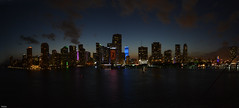 ... Miami waterfront ... (wolli s) Tags: flickr miami night nightshot panorama stitch stitched florida usa us stitching waterfront shot fl fla