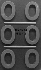MLN074 (Chocolate Concepts) Tags: o chocolate letters number numbers letter mold