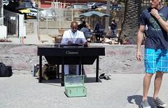 Jules Starr (Richard Davis2013) Tags: santa music beach piano tuxedo monica singer entertainer jules talented starr