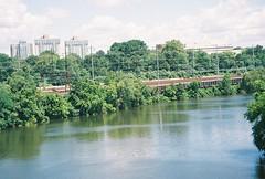 R1-04773-005A (jamesl666) Tags: train river traintracks powerlines