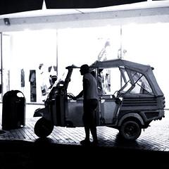 Milano Marittima (lorenzog.) Tags: summer people italy monochrome silhouette night nikon italia nightlife romagna cervia d300 milanomarittima rivieraromagnola 2013