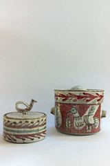 . (12Ave) Tags: vintage ceramic ceramics pot pottery 50s 1950 cramique vallauris gustavereynaud lemurier jeanderval potcouvert