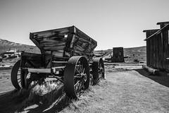 Wagon Wheel (dallas.w) Tags: california wild bw west abandoned gold rush bodie vision:beach=058 vision:mountain=088