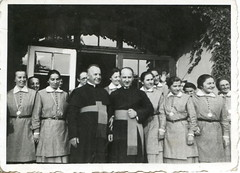The bishop's visit. Glattfelder Gyula (18741943) (elinor04 thanks for 22,000,000+ views!) Tags: family history vintage photo 1930s women hungary catholic roman religion young nuns priest bishop sss szeged sistersofsocialservice szocilistestvrektrsasga glattfeldergyula vintagefamilyphotocollection elinorsvintagefamilyphotocollection hungariancollection