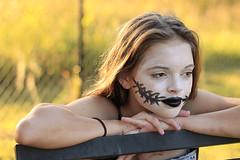 Ready for Halloween (jensfo44) Tags: portrait fall halloween golden bokeh