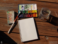 Mornings on the deck! (KAI | ZAN57) Tags: watercolor studio paint box artsupplies sketchkit