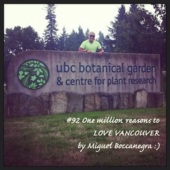 | no.92 | | UBC Botanical Garden and Centre for Plant Research | (onemillionreasonstolovevancouver) Tags: world city people tourism home promotion vancouver cool realestate profile ubc today botanicalgardens l4l vancity downtownvancouver metrovancouver onemillion cityofvancouver vancouverite vancouvercity vancouvertourism vancouverrealestate vanone awesomevancouver instaphoto instagood instafollow uploaded:by=flickrmobile flickriosapp:filter=nofilter miguelboccanegra thegreatervancouverarea