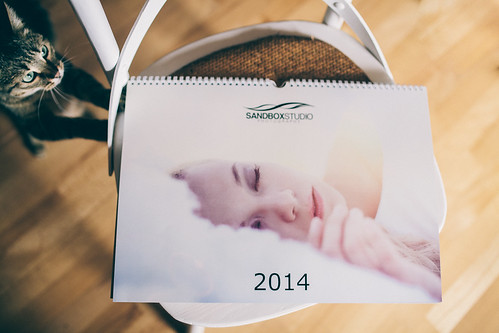 Sandbox Studio Photography 2014 calendar