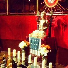 Cambridge Buddhist Centre, UK   Urban Retreat shrine #urbanretreat