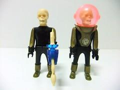 ALIENIGENAS CALAVERA - AIRGAM BOYS (RMJ68) Tags: boys toy robot dragon space plastic plastico juguete calavera espacio alienigenas airgam