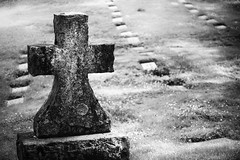 rest in peace (TroyMasonPhotography) Tags: bw cemetery oregon portland peaceful roadtrip willametteriver lightroom lakeoswego riverviewcemetery silverefexpro