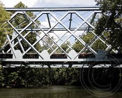 NJ Transit Railroad Bridge over Pompton River, New Jersey (jag9889) Tags: railroad bridge river puente newjersey kayak crossing wayne nj bridges ponte kayaking transit pont brcke paddling lincolnpark waterway njtransit morriscounty 2011 passaiccounty pompton pomptonriver y2011 jag9889 bridgesbykayak kayakbridgesset k773