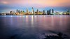 Nights to Come (Sky Noir) Tags: ca cali skyline night reflections photography evening coast twilight colorful cityscape waterfront sandiego wideangle socal bluehour waterscape skynoir