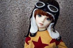 The Heart of a Child, The Mind of a Soldier (daggry_saga) Tags: bjd abjd balljointeddolls chesi napidoll