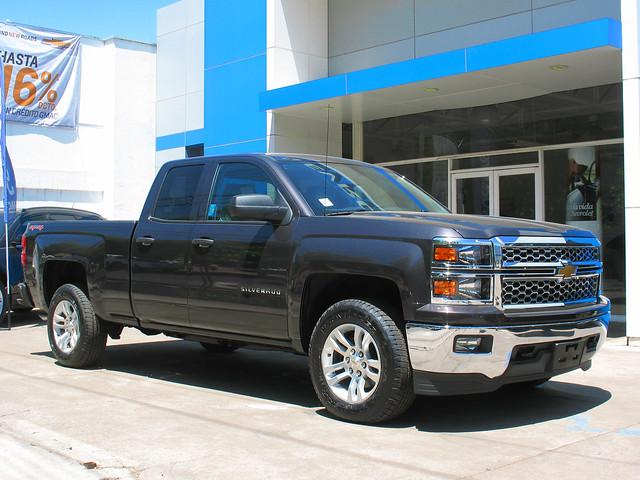 chevrolet 4x4 pickup 1500 pickuptrucks camionetas crewcab silveradolt