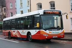 Bus Eireann SL22 (09C252). (SC 211) Tags: cork scania buseireann parkride omnilink corkcountycouncil sl22 k230 shearesstreet december2013 09c252