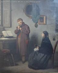 Eugenio Prati La vedova 1881 olio su tela Collezione privata