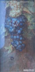 Giulio Cesare Prati Uva olio su tavola 42x21cm