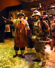 Professors Phineas T. Flockmocker and Abner Perry (beppesabatini) Tags: sanfrancisco california cosplay dickensfair edgarriceburroughs steampunk charlesdickens cowpalace greatdickenschristmasfair pellucidar the35thannualgreatdickenschristmasfairvictorianholidayparty redbarnproductions
