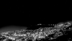 Chefchaouen (clmenceLiu ) Tags: city bw mountains night nikon morocco atlas chefchaoun nikond800