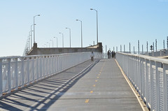 Oakland Bay Bridge (Iyhon Chiu) Tags: cycling oakland biking baybridge bikelane oaklandbaybridge 2013 d7000