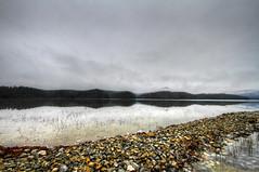 Shoreline (konrad_photography) Tags: blue winter lake mountains rocks cove reservoir ridge roanoke va hdr carvins
