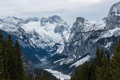 Blick zum Dachstein (Kretzsche93) Tags: schnee winter snow ski cold west salzburg austria österreich dachstein oberösterreich januar annaberg kälte 2014 winterurlaub gosau wenig wärme bergbahnen dachsteinwest schneekanonen rusbach