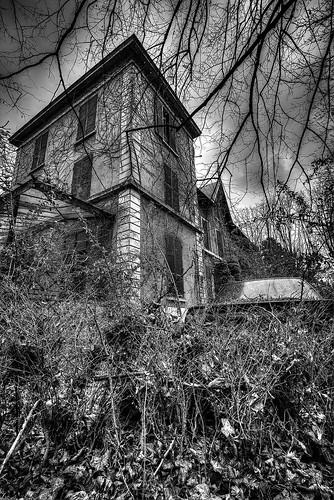 {Urbex} Villa de l'ambassadeur - vue extérieur