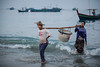 Overnight catch (Lil [Kristen Elsby]) Tags: dawn fishing topf50 burma earlymorning topv5555 editorial myanmar 7020028l fishingboats fishingboat fishingvillage rakhine ngapali travelphotography documentaryphotography 70200f28l canon7020028l ngapalibeach rakhinestate canon5dmarkii gyeiktaw myanmar2013 gyeiktawvillage