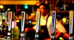 Beer Taps (tim.hage) Tags: beer bars bokeh beverage depthoffield taps clubs