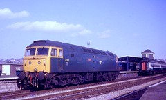 47611 Thames at Plymouth in 1986 (winterbournecm) Tags: thames class 47 47611