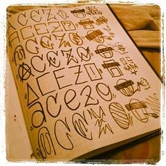 Tá acendendo!  - estudando (Coró AgaVe) Tags: square graffiti estudo vandal squareformat lordkelvin pixação aceso iphoneography graffitivandal instagramapp uploaded:by=instagram acezo coroagave osnadav