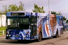 Bus Eireann KC164 (UZG164). (Fred Dean Jnr) Tags: bus cork pepsi gac may1999 buseireann knocknaheeney alloverad kc164 uzg164 buseireannroute202