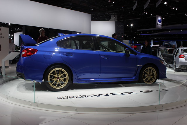 2015 Subaru WRX STI - Side View 2