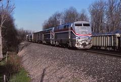 Holmesville, Indiana (UW1983) Tags: trains amtrak railroads pennsylvanian otishill