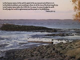 Psalms 96:11-13