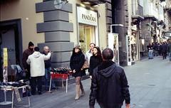 everywhere leopard (nuamba) Tags: street people color film kodak leopard napoli ricoh kr10x nuamba