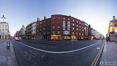 Dame Street (Dublin) (David Ortega Baglietto) Tags: street city ireland sunset dublin europe pano capital panoramic panoramica dame irlanda