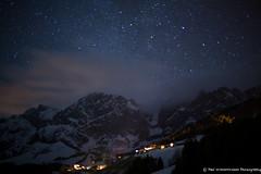Hochkönig, Austria (paul.wienerroither) Tags: winter light sky snow mountains nature night clouds canon stars landscape photography lights austria view dslr longtimeexposure hochkönig nightonearth